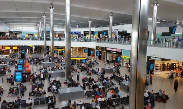 Nőtt az utasforgalom Heathrow-n