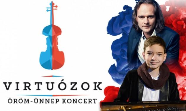 Virtuózok gálakoncert a Margitszigeten augusztus 20-án