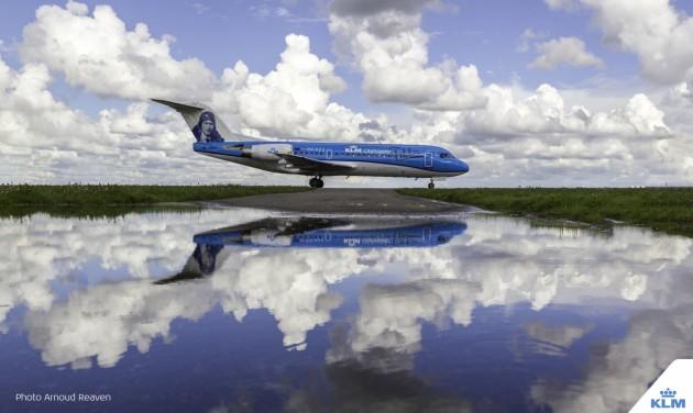 Búcsúzik a KLM utolsó Fokker 70-es repülőgépe
