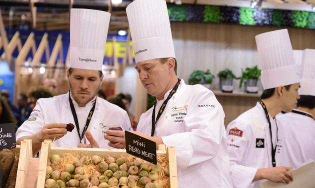 Bocuse d'Or világdöntő: bevásárlással kezdődött a verseny