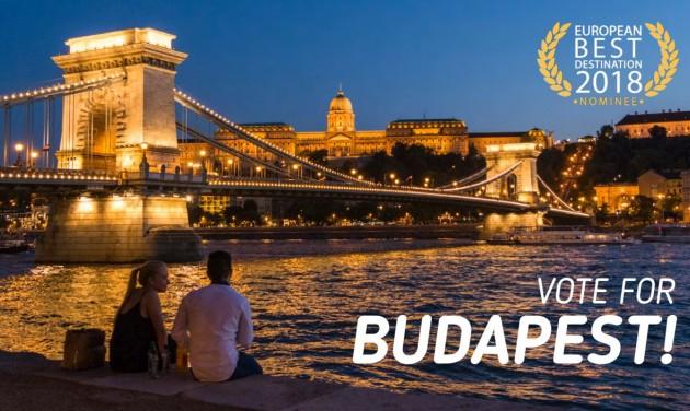 Legyen idén Budapest a legjobb európai úticél!