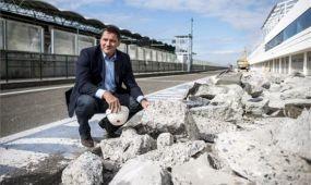 Az újraaszfaltozással elkezdődött a Hungaroring felújítása