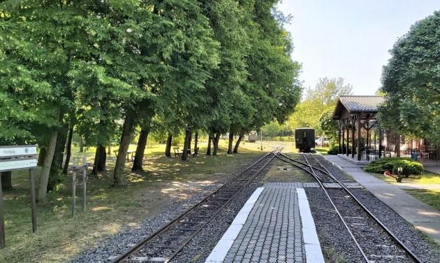 Hétvégenként újraindul a Gemenci Erdei Vasút
