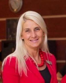 Ács-Dósa Mónika a Hotel Lycium****-Kölcsey Központ értékesítési és marketing igazgatója