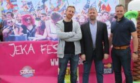 Sziget és Balaton Sound Fesztivál kampány Belgiumban