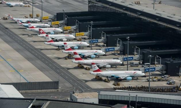 Koronavírus elleni intézkedések tesztrepülőtere lesz a Bécs-Schwechat