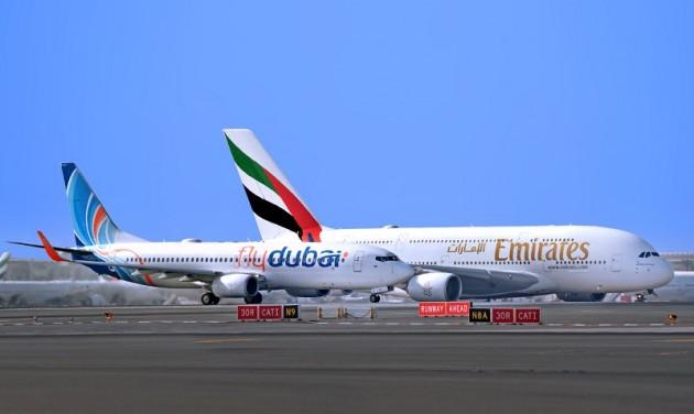 Bejelentette első partnerútvonalait az Emirates és a flydubai