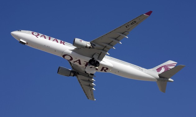 A330-assal is repül Budapestre a Qatar Airways