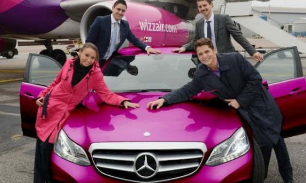 A Wizz Air a rentalcars.com-mal lépett partnerségre