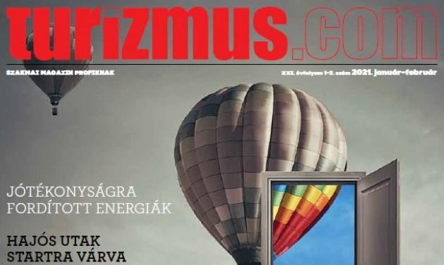 Megjelent a Turizmus.com magazin január-februári száma