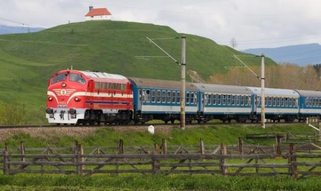 Nohab mozdonnyal és étkezőkocsival a Balatonhoz