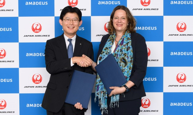 JAL-Amadeus együttműködés a további előnyökért