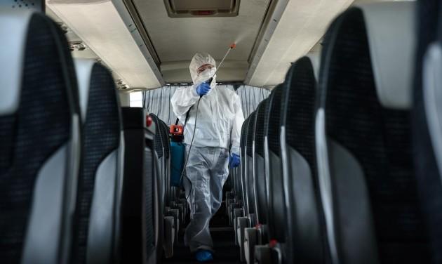 Vírusmentes tisztasági protokoll buszos vállalkozók számára