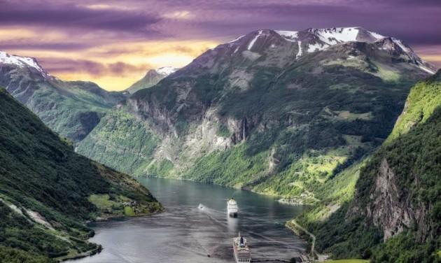 Kiss Róbert Richárd a norvég hajóutakról