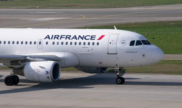 Minden budapesti járatát törölte az Air France