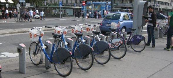 Bátrabban kerekeznek a bécsi biciklisek