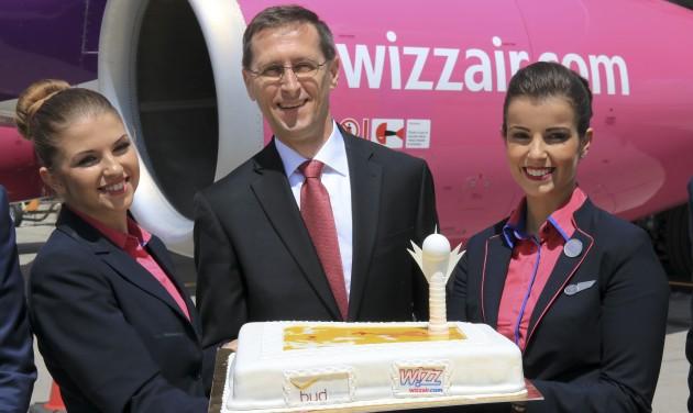 Elindult a Wizz Air Budapest–Asztana járata