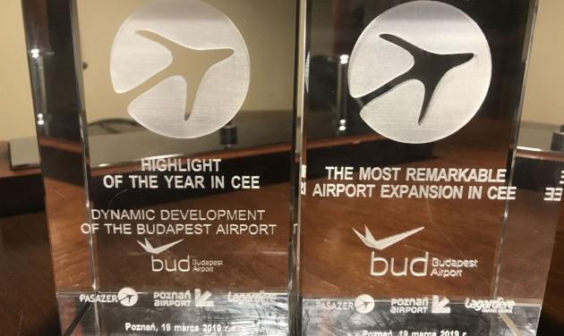 Kétszeres CEESAR-díjas a Budapest Airport