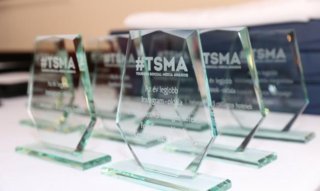 TSMA-díjátadó képekben