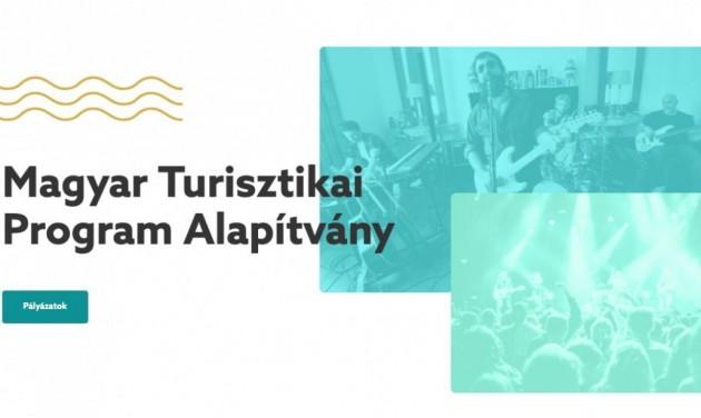 A rendezvények újraindulását segítené a frissen alakult Magyar Turisztikai Program Alapítvány