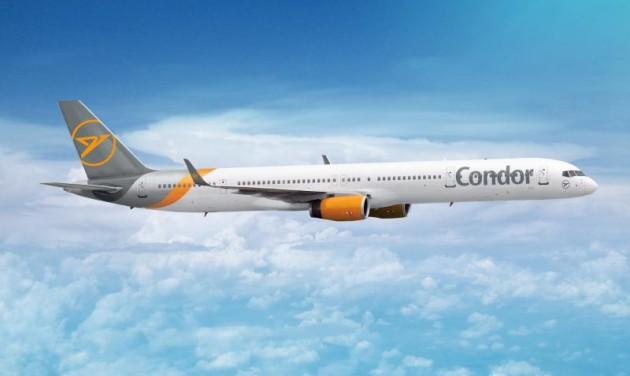 Karácsonyi Condor-járatok a nyárba