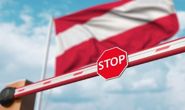 Ausztria: péntektől belépés csak elektronikus regisztrációval