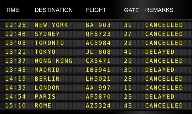 Uniós bíróság: kártérítés jár a sztrájk miatt törölt járatok utasainak