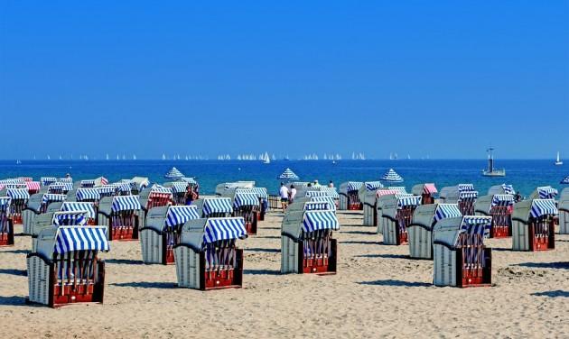 Szokatlanul meleg a Balti-tenger