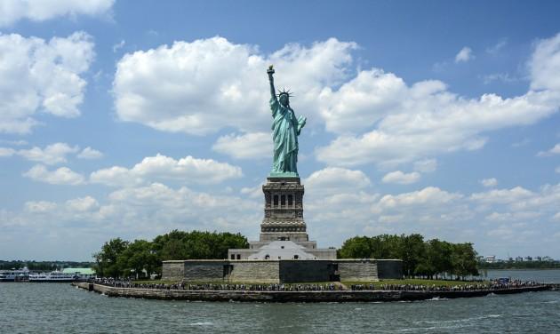 Kitiltják az idegenvezetőket a New York-i Szabadság-szoborból