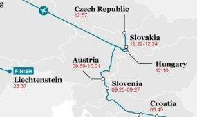 Rekord: 19 európai országban jártak egy nap alatt