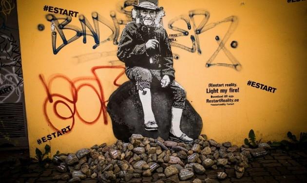 Digitális street arttal indul az Észt hét