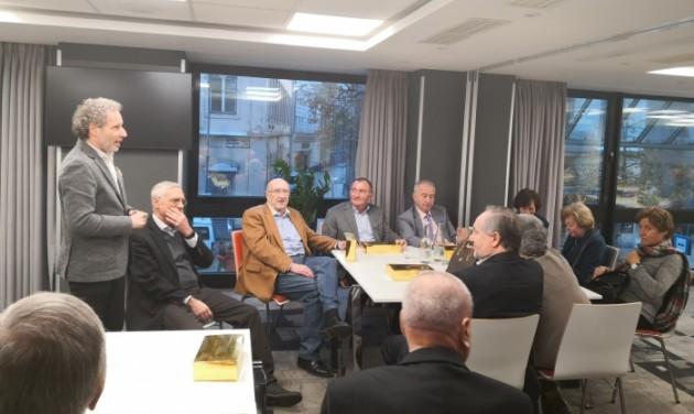 Nyugdíjas találkozó az MSZÉSZ-nél