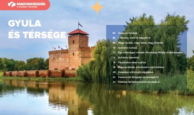 Letölthető a Gyulát és térségét bemutató új MTÜ-kiadvány