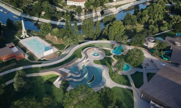 Gyorsabban épülhet meg a vízi élménypark Győrött