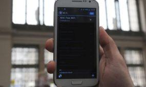 Wifi  öt vasútállomáson