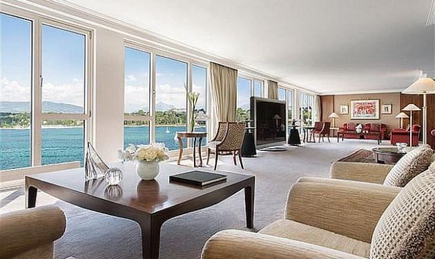 A világ legdrágább szállodai lakosztálya