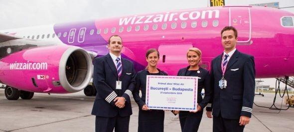Elindult a Wizz Air Budapest-Bukarest járata