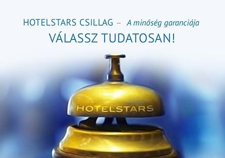 További szállodák kapták meg a Hotelstars csillagokat