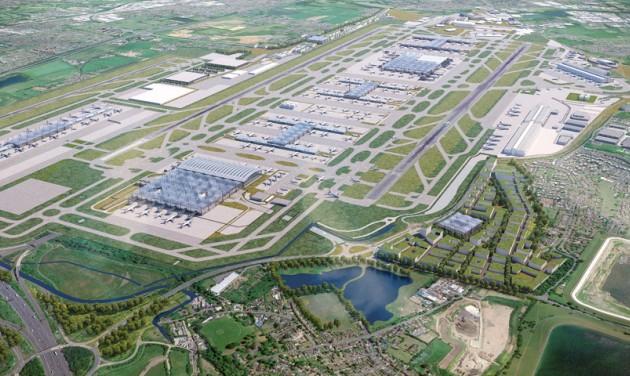 Megépül a harmadik kifutópálya Heathrow-n