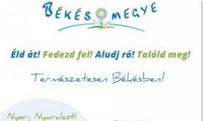 Kampányt indított Békés megye, Nyaraljunk Békés megyében szlogennel