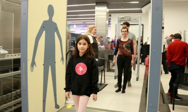 Budapest Airport: két új utasbiztonsági csatorna