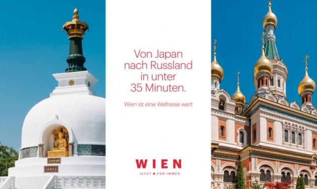 Bécsi turizmusindító kampány: világkörüli út helyben