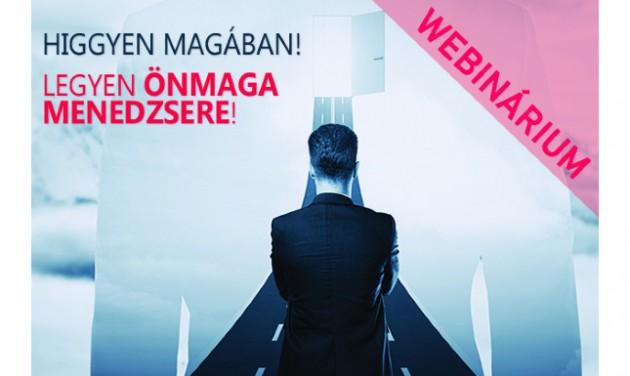 Karrier (újra)tervezés, önmenedzsment – Online előadás