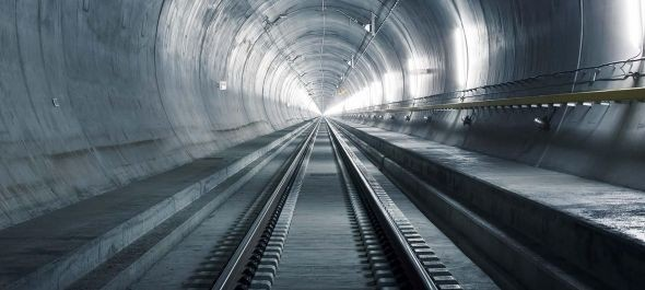 Svájcban épül a világ leghosszabb és legmélyebb vasúti alagútja