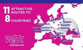 Bázist nyitott Kutaisiben a Wizz Air