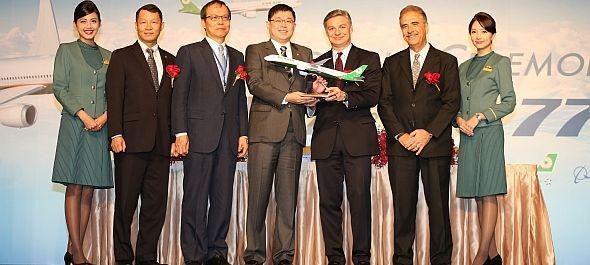 Környezetbarátabb Boeingeket rendelt az EVA Air