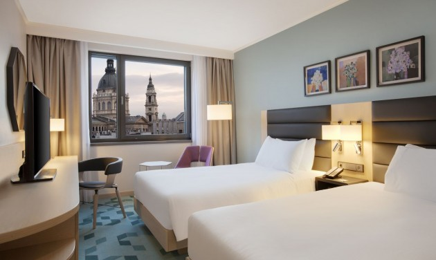 A szervizre fókuszál a Hilton Garden Inn Budapest City Centre