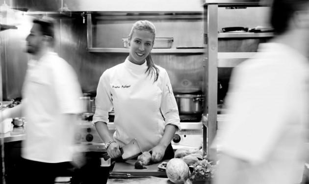 Palágyi Eszter a S.Pellegrino Young Chef regionális döntője zsűrijében