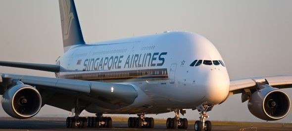 Singapore Airlines: A380-assal Aucklandbe