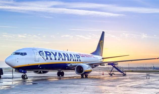 Járattörlések helyett lassabb növekedés a Ryanairnél